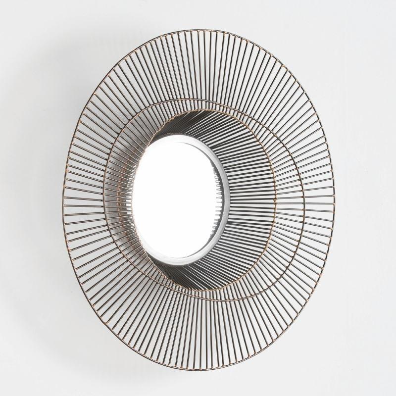 Specchio 58X10 Metallo Dorato - image 52432