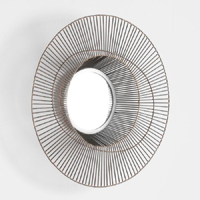 Specchio 58X10 Metallo Dorato - image 52434
