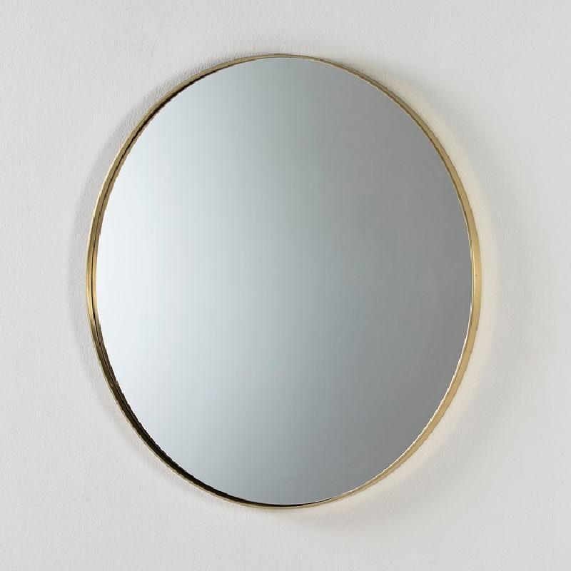 Espejo 80X5 Metal Dorado
