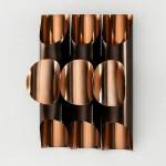 Wall Lamp 34X17X46 Metal Copper