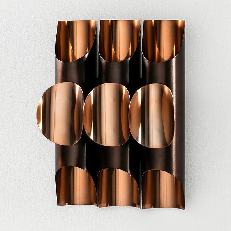 Wall Lamp 34X17X46 Metal Copper - image 52489