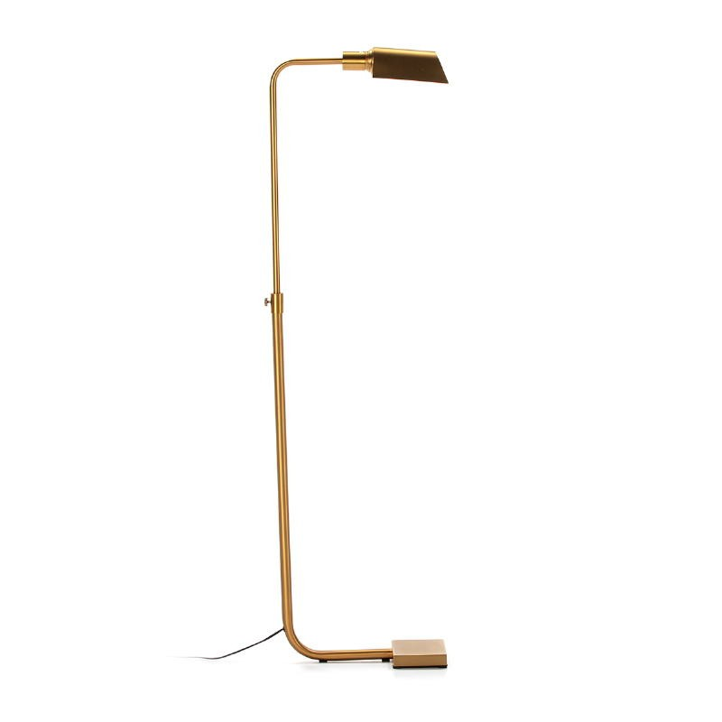 Lámpara De Pié 40X15X135 Metal Dorado - image 52549