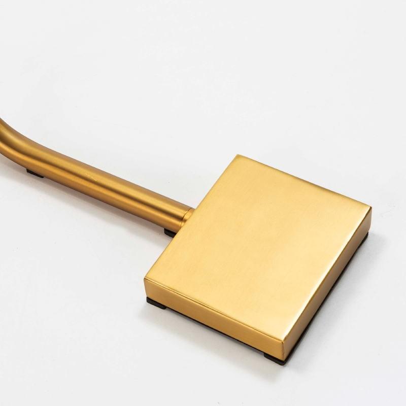 Lámpara De Pié 40X15X135 Metal Dorado - image 52550