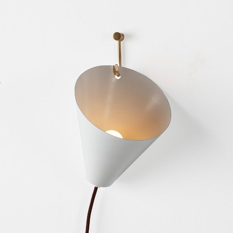 Wall Lamp 18X17X19 Metal White - image 52596