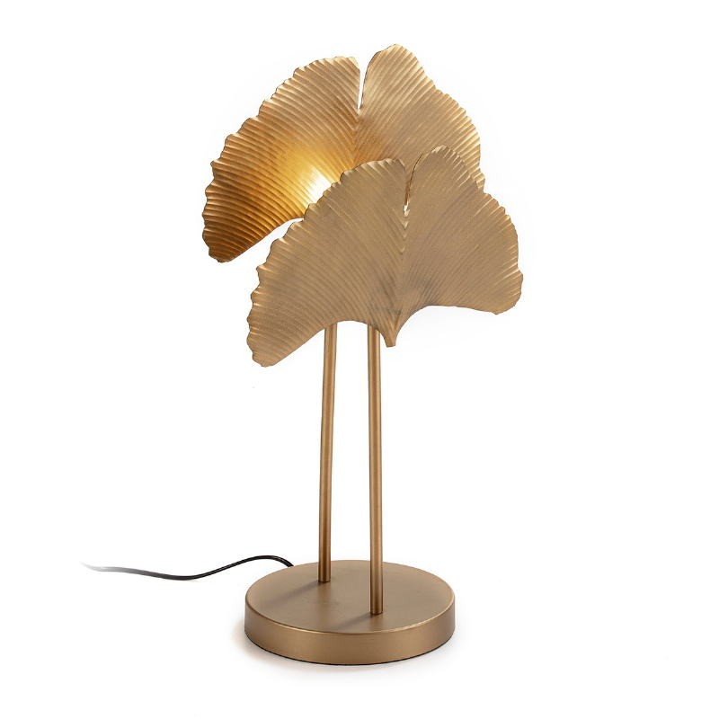 Table Lamp 30X20X58 Metal Golden