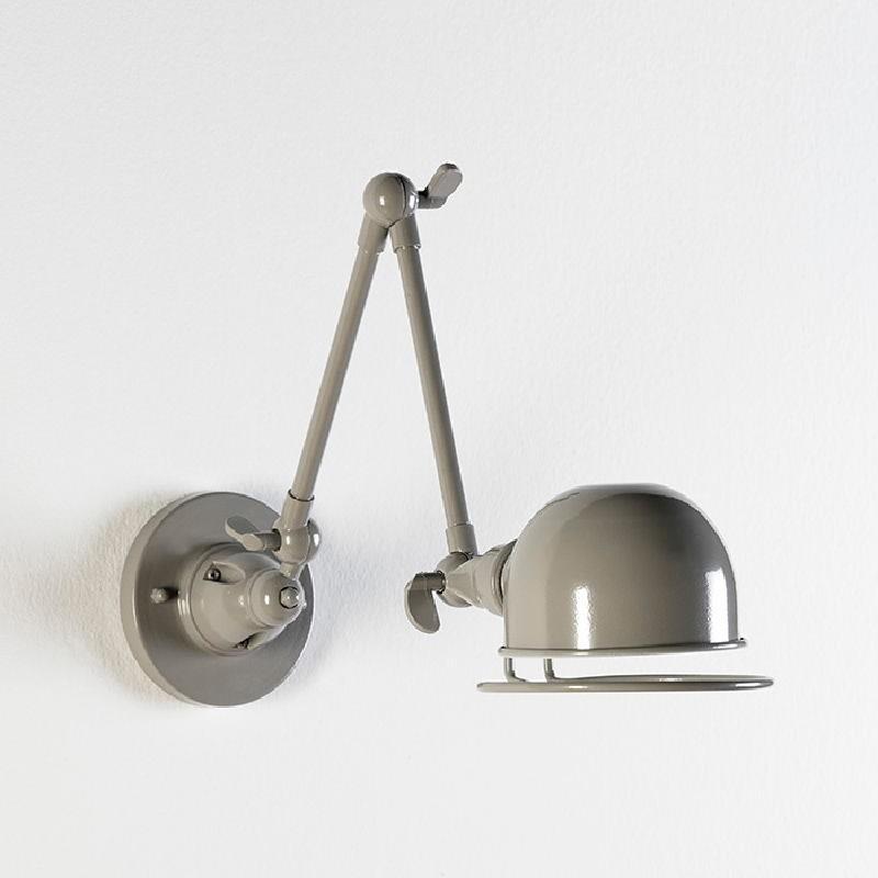 Aplique 14X70X27 Metal Gris