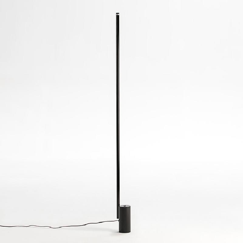 Lampadaire sans abat-jour 12x10x186 Métal Noir LED 25W - image 52943