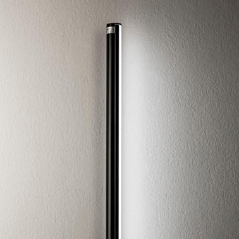 Lampadaire sans abat-jour 12x10x186 Métal Noir LED 25W - image 52946