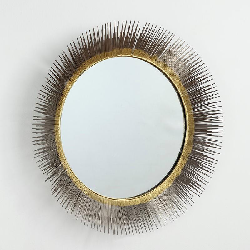 Specchio 81X7 Vetro Metallo Argento Oro - image 52974