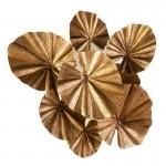 Escultura 100X35X110 Metal Dorado