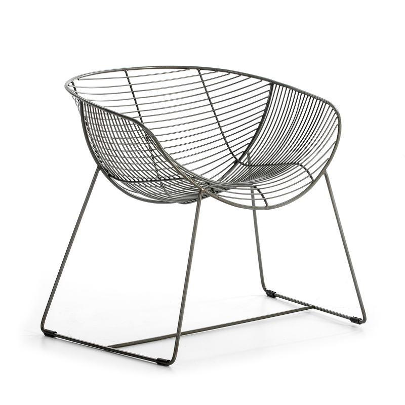 Chair 79X65X73 Metal Zinc - image 53187