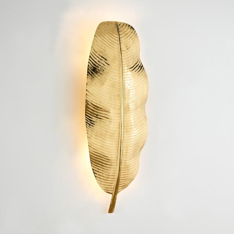 Wall Lamp 34X15X91 Metal Golden - image 53196