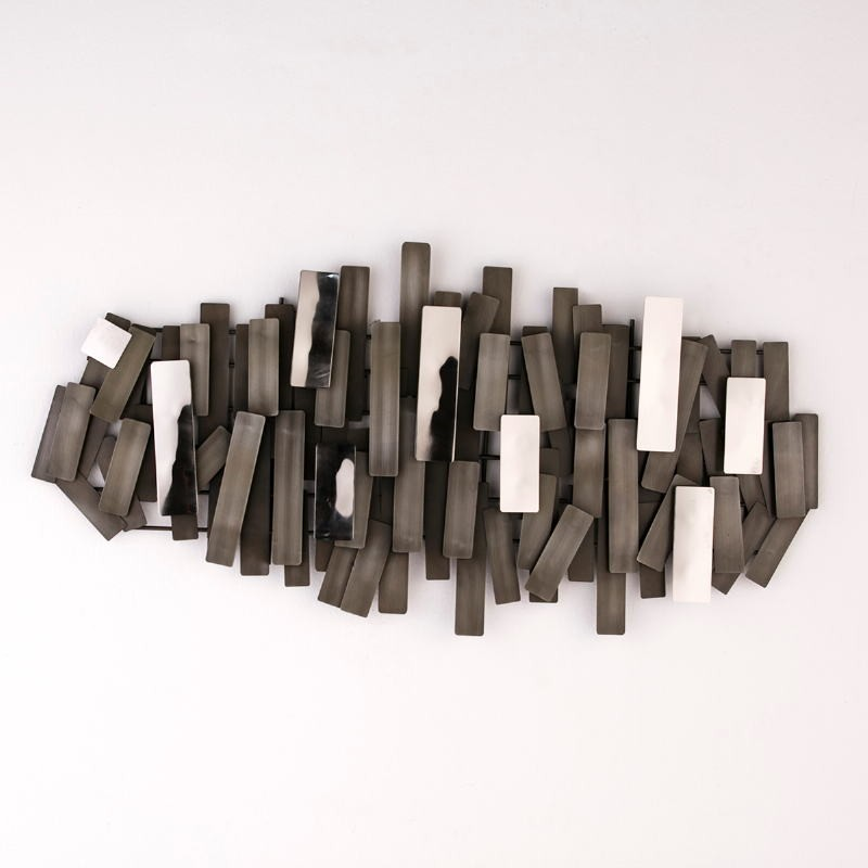 Scultura 100X5X50 Metallo Zinc - image 53243