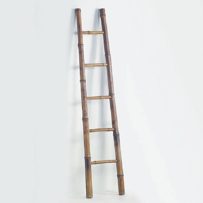 Leiter 30X7X150 Bambus Brown