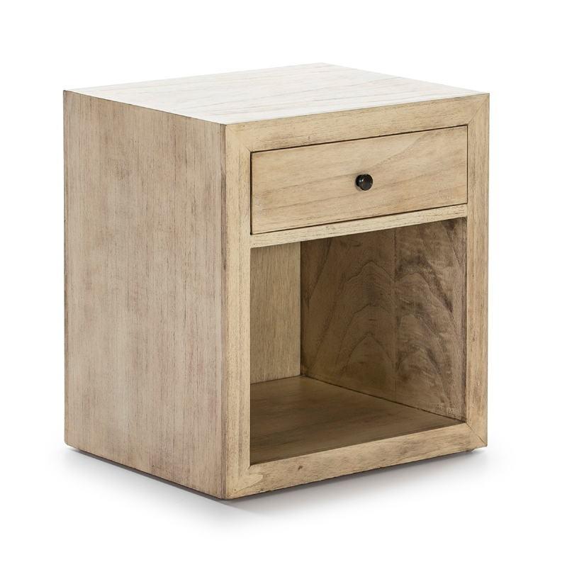 Table de chevet 50x40x55 Bois Naturel Modèle 2