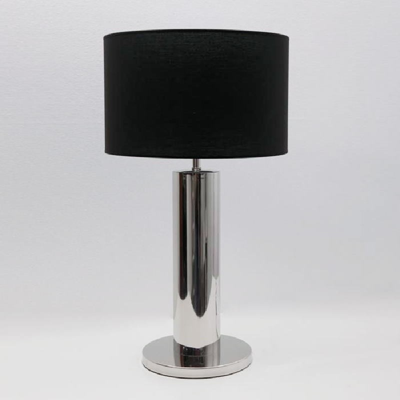 Table Lamp Without Lamp Shade 25X49 Metal Chrome