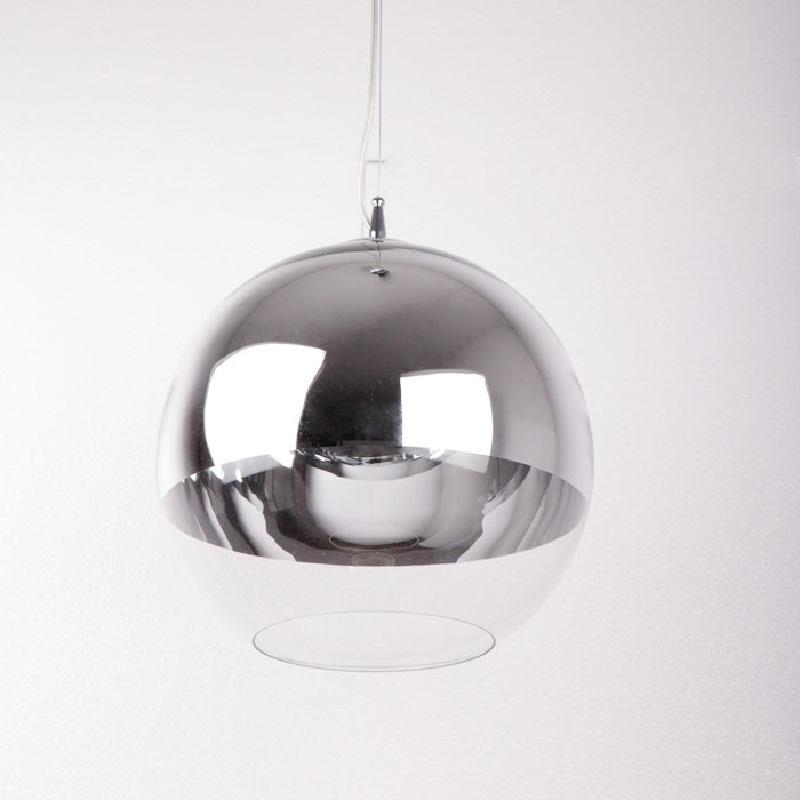 Lampe suspendue 30x30x175 Verre