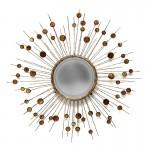 Specchio 98X5X98 Metallo Madreperla