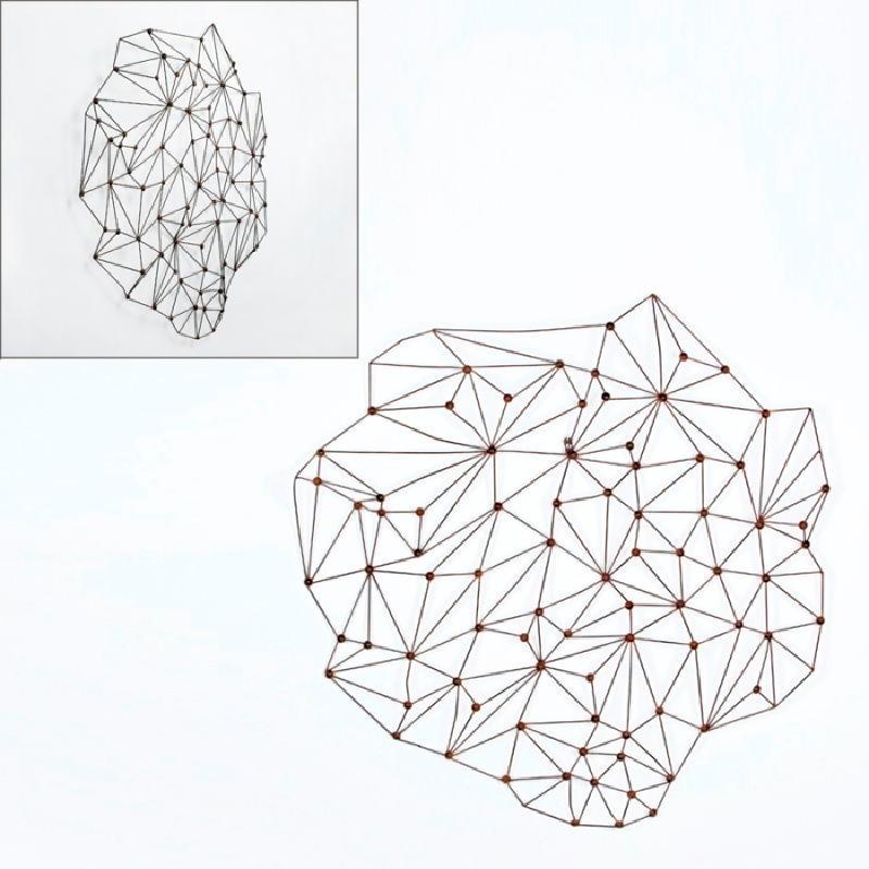 Scultura 100X6X100 Metallo Ruggine - image 53394
