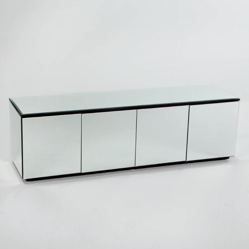 Sideboard 4 Doors 180X50X57 Mirror
