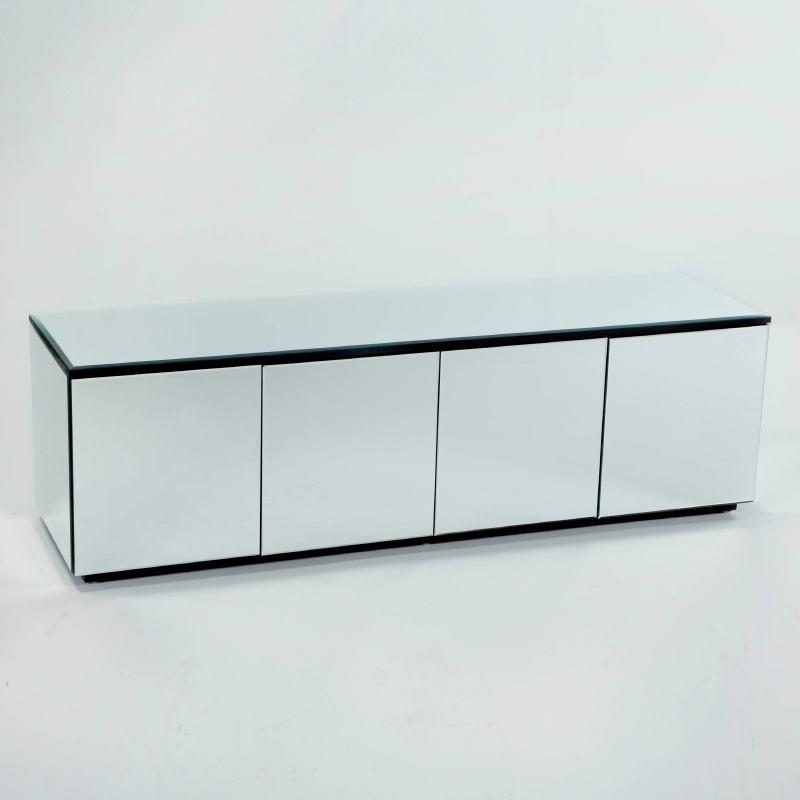 Sideboard 4 Doors 180X50X57 Mirror - image 53432