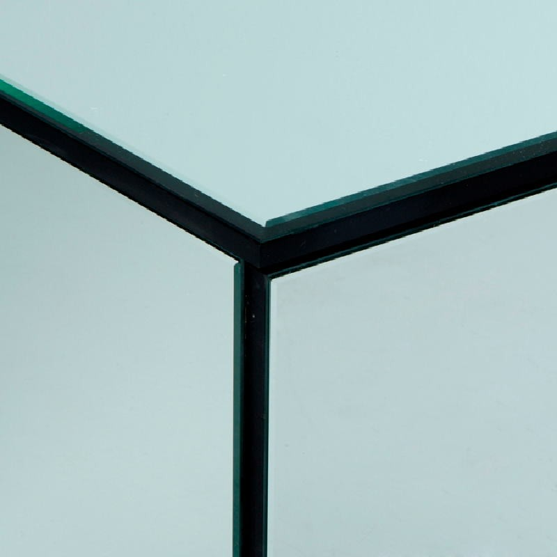 Sideboard 4 Doors 180X50X57 Mirror - image 53434