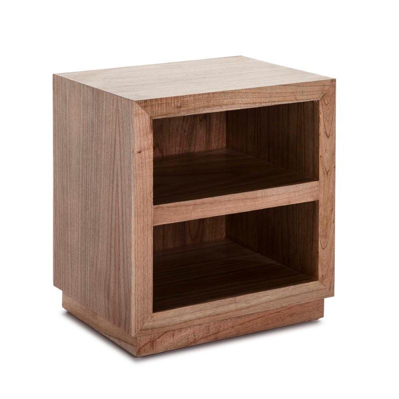 Table de chevet 50x40x55 Bois marron Modèle 2