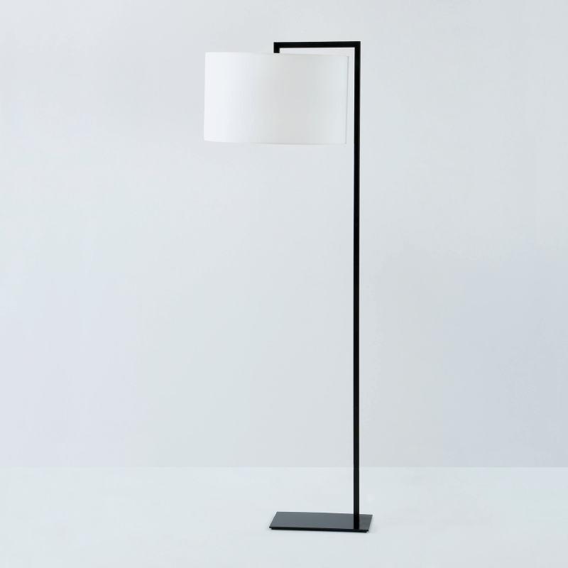 Lampada A Stelo Senza Paralume 20X35X170 Metallo Nero - image 53456