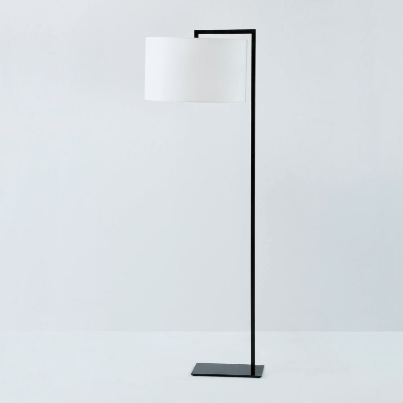 Standard Lamp Without Lampshade 20X35X170 Metal Black - image 53456