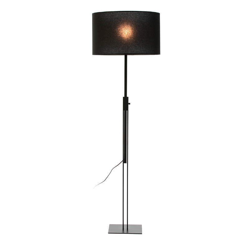 Standard Lamp Without Lampshade 25X25X100 200 Metal Black - image 53457