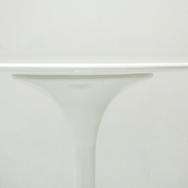 Dining Room Table 90X90X75 Fiberglass White - image 53480