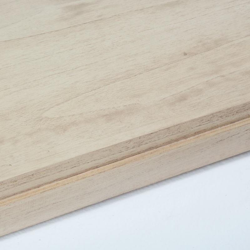 Table basse 110x70x45 Verre Bois naturel - image 53488