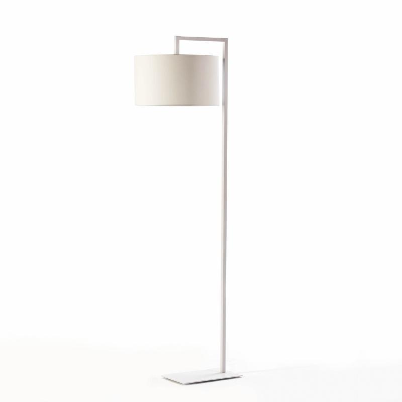 Lampadaire sans abat-jour 20x35x170 Métal Blanc - image 53530