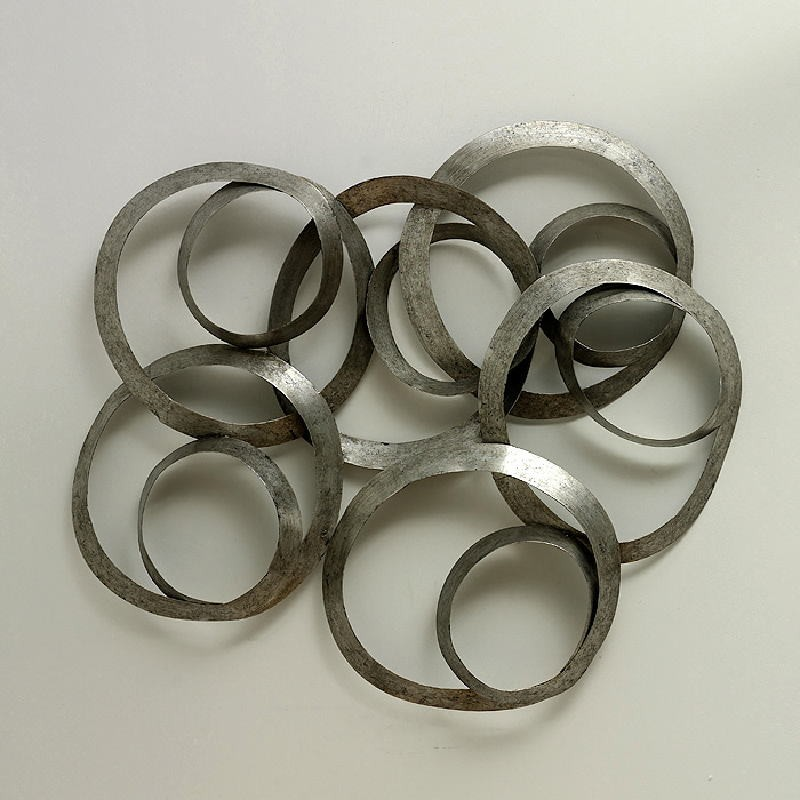 Sculpture 99X14X98 Metal Silver - image 53611