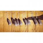Silk Screen Printing 200X5X100 Yellow Storks