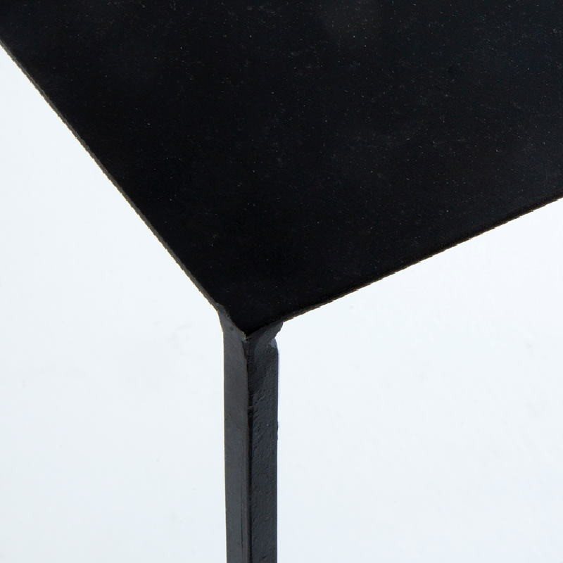 Console 76X28X80 Metal Black - image 53648