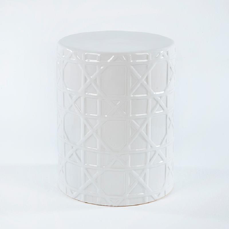 Stool 36X36X46 Ceramic White - image 53659
