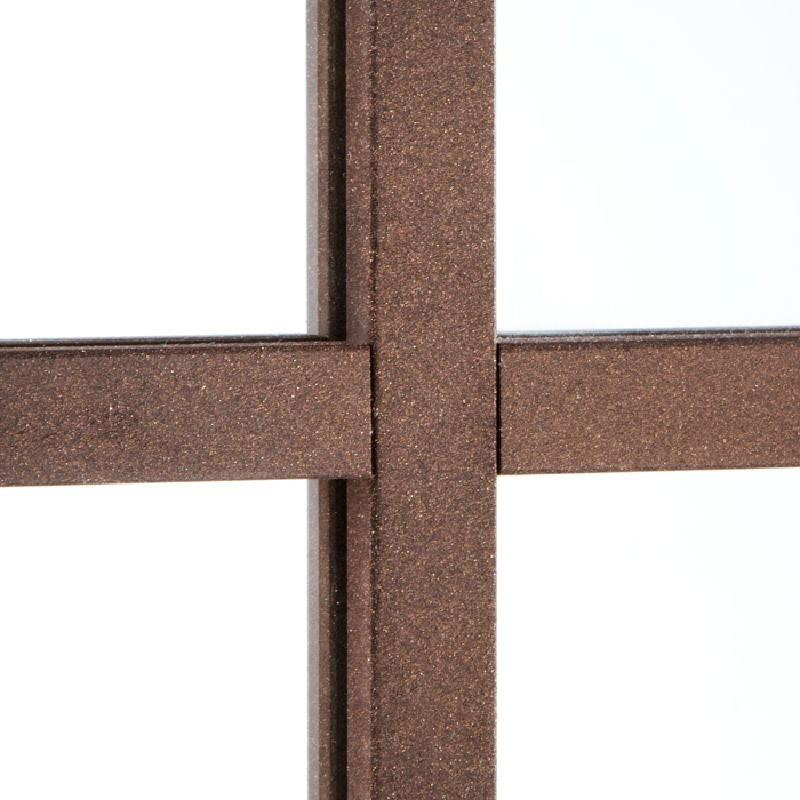 Specchio 100X4X132 Lacca Mdf Ruggine - image 53674