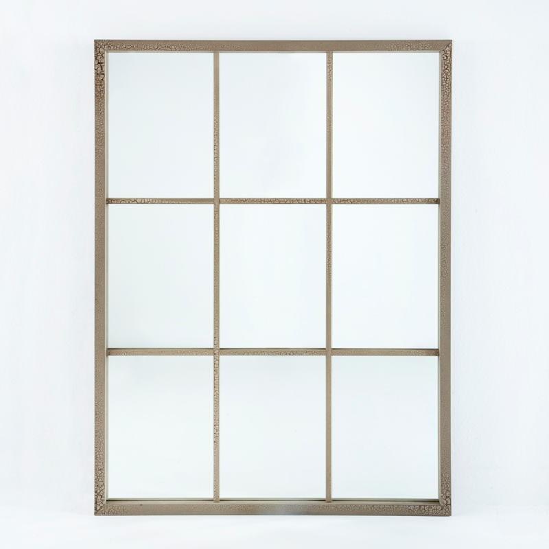 Specchio 100X4X132 Lacca Mdf Sabbia