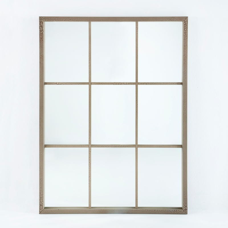 Specchio 100X4X132 Lacca Mdf Sabbia - image 53681