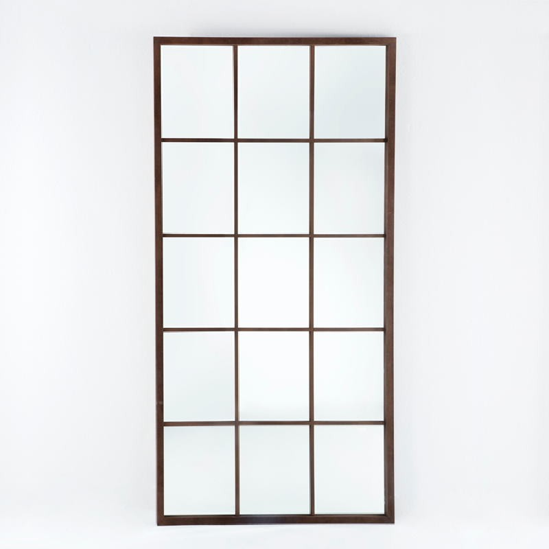 Miroir 100x4x200 Laqué MDF Oxydé