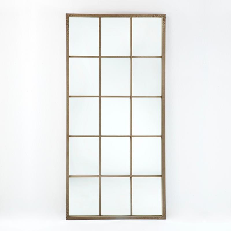 Miroir 100x4x200 Laqué MDF Sable