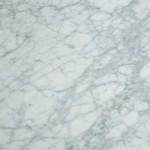 Dining Room Table 200X120X73 Marble Aluminium White