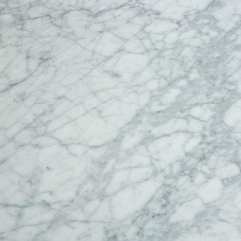 Esstisch 200X120X73 Marmor/Aluminium Weiß - image 53692
