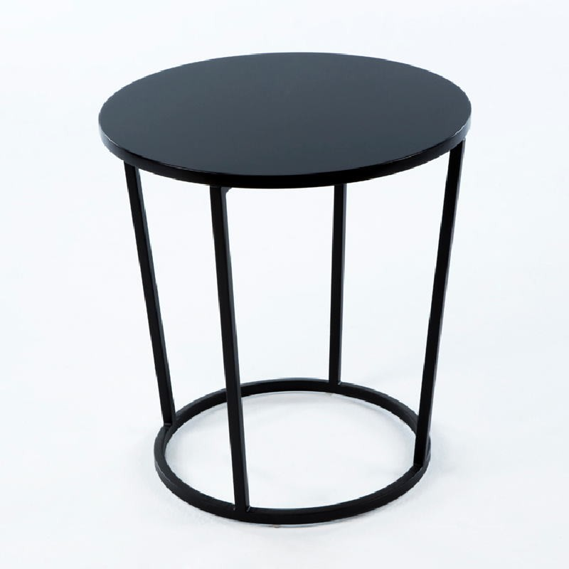 Auxiliary Table 50X50X54 Metal Mdf Black
