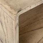 Nachttisch 50X35X51 Gebleichtes Graues Holz