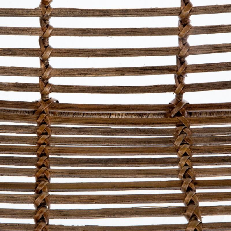 Sedia 53X71X81 Metallo Vimini Marrone - image 53733