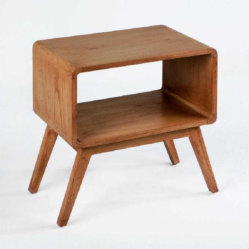 Nachttisch 50X35X51 Brown Wood