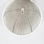 Lámpara Colgante 60X60 Mimbre Blanco