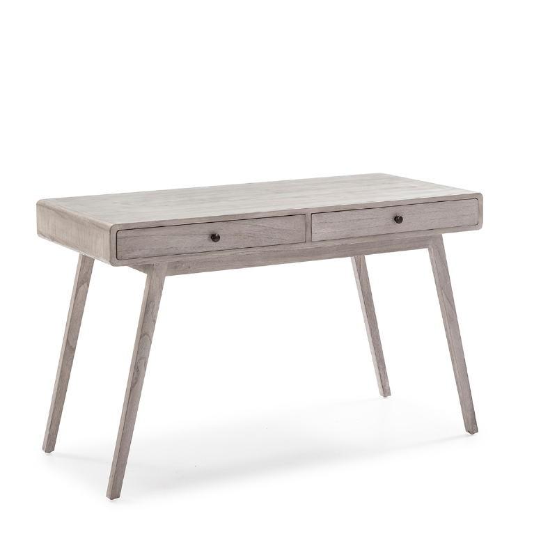 Desk 120X55X76 Wood Grey Veiled